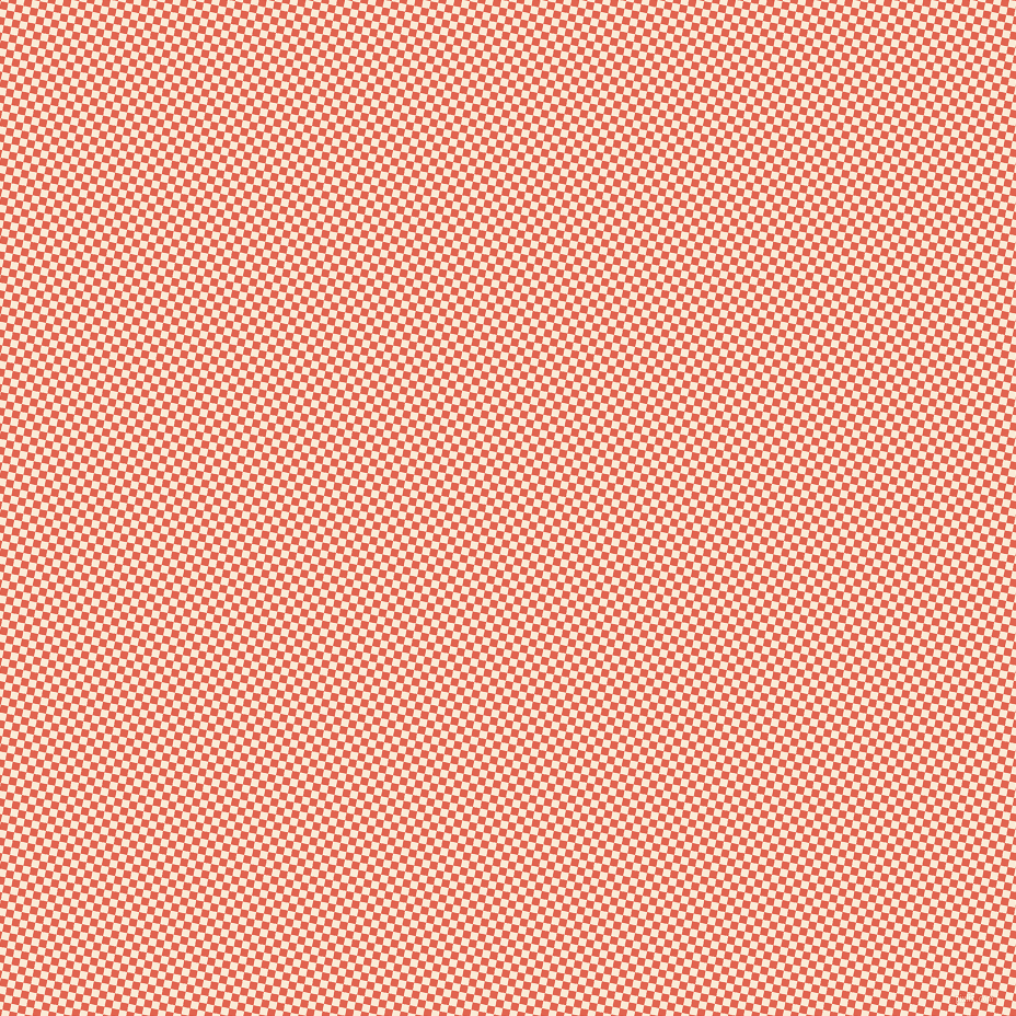 79/169 degree angle diagonal checkered chequered squares checker pattern checkers background, 7 pixel square size, , Flamingo and Antique White checkers chequered checkered squares seamless tileable