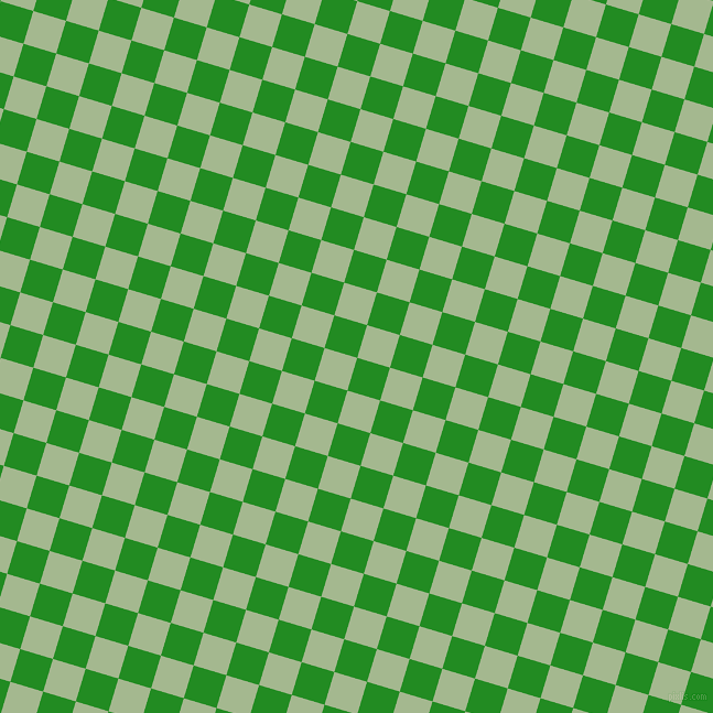 73/163 degree angle diagonal checkered chequered squares checker pattern checkers background, 31 pixel squares size, Forest Green and Norway checkers chequered checkered squares seamless tileable
