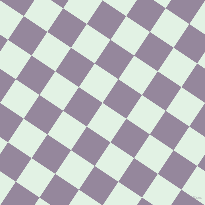 56/146 degree angle diagonal checkered chequered squares checker pattern checkers background, 100 pixel square size, , Frosted Mint and Amethyst Smoke checkers chequered checkered squares seamless tileable