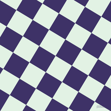 59/149 degree angle diagonal checkered chequered squares checker pattern checkers background, 74 pixel square size, , Frosted Mint and Minsk checkers chequered checkered squares seamless tileable