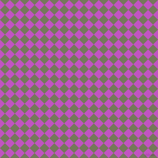 45/135 degree angle diagonal checkered chequered squares checker pattern checkers background, 27 pixel square size, , Fuchsia and Finch checkers chequered checkered squares seamless tileable