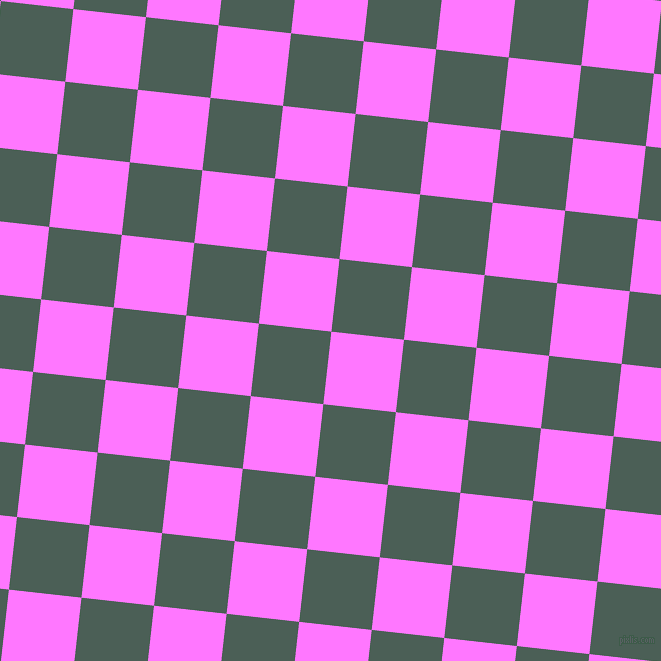 84/174 degree angle diagonal checkered chequered squares checker pattern checkers background, 73 pixel square size, , Fuchsia Pink and Viridian Green checkers chequered checkered squares seamless tileable