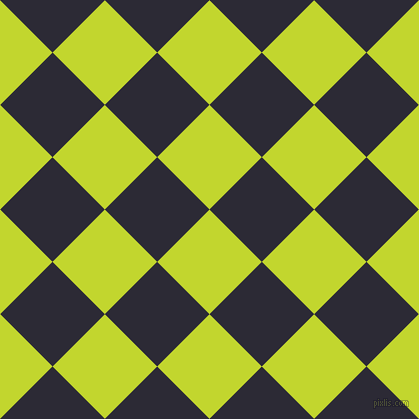 45/135 degree angle diagonal checkered chequered squares checker pattern checkers background, 74 pixel square size, Fuego and Haiti checkers chequered checkered squares seamless tileable