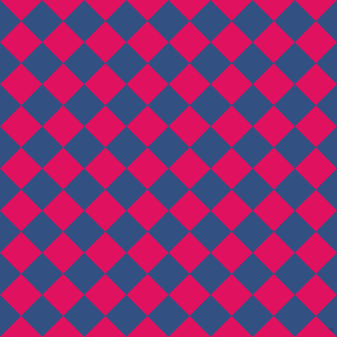 45/135 degree angle diagonal checkered chequered squares checker pattern checkers background, 60 pixel squares size, , Fun Blue and Ruby checkers chequered checkered squares seamless tileable