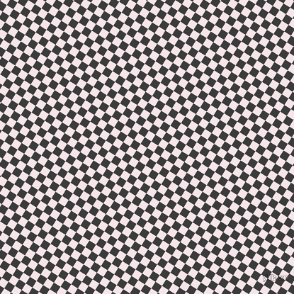 58/148 degree angle diagonal checkered chequered squares checker pattern checkers background, 11 pixel square size, , Fuscous Grey and Amour checkers chequered checkered squares seamless tileable