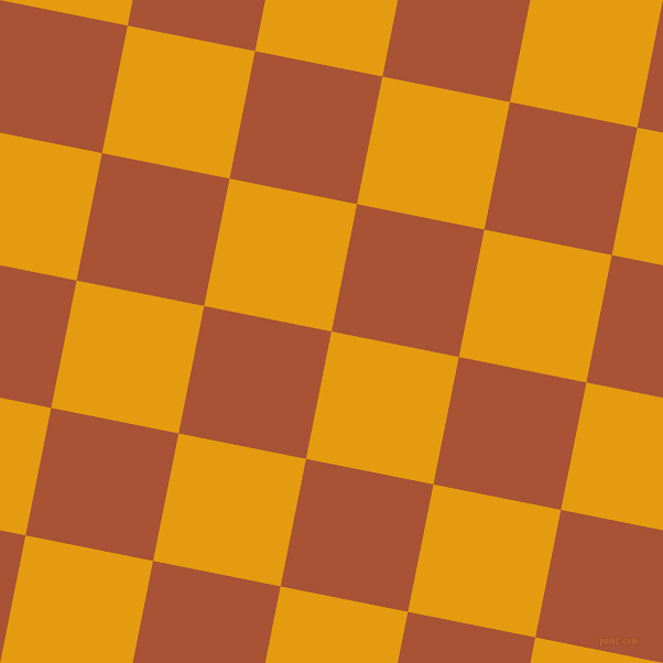 79/169 degree angle diagonal checkered chequered squares checker pattern checkers background, 118 pixel squares size, , Gamboge and Orange Roughy checkers chequered checkered squares seamless tileable