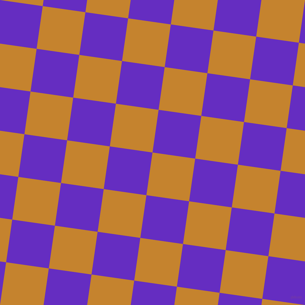 82/172 degree angle diagonal checkered chequered squares checker pattern checkers background, 139 pixel square size, Geebung and Purple Heart checkers chequered checkered squares seamless tileable