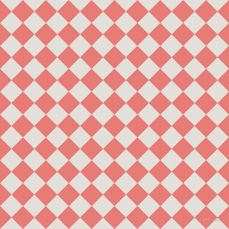 45/135 degree angle diagonal checkered chequered squares checker pattern checkers background, 33 pixel squares size, , Geraldine and Vista White checkers chequered checkered squares seamless tileable