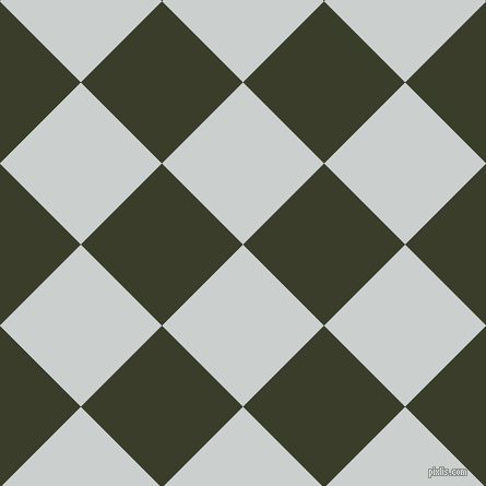 45/135 degree angle diagonal checkered chequered squares checker pattern checkers background, 105 pixel square size, , Geyser and Green Kelp checkers chequered checkered squares seamless tileable