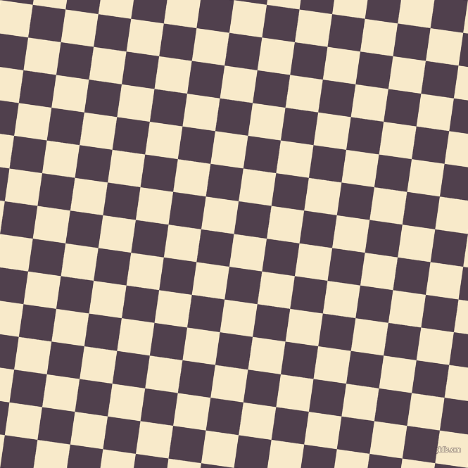 82/172 degree angle diagonal checkered chequered squares checker pattern checkers background, 47 pixel square size, , Gin Fizz and Purple Taupe checkers chequered checkered squares seamless tileable