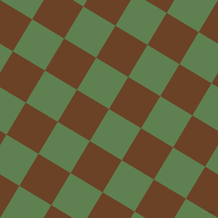 59/149 degree angle diagonal checkered chequered squares checker pattern checkers background, 121 pixel square size, , Glade Green and Semi-Sweet Chocolate checkers chequered checkered squares seamless tileable