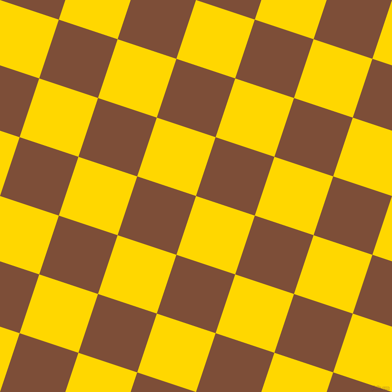 72/162 degree angle diagonal checkered chequered squares checker pattern checkers background, 126 pixel square size, , Gold and Cigar checkers chequered checkered squares seamless tileable