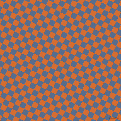 63/153 degree angle diagonal checkered chequered squares checker pattern checkers background, 19 pixel squares size, , Gold Drop and Kashmir Blue checkers chequered checkered squares seamless tileable