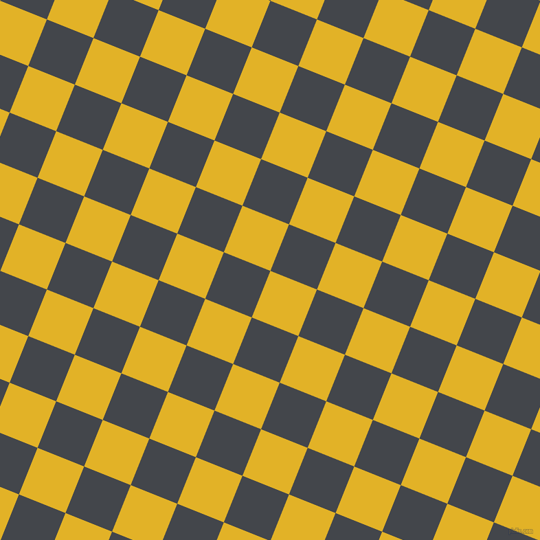 68/158 degree angle diagonal checkered chequered squares checker pattern checkers background, 73 pixel square size, , Gold Tips and Steel Grey checkers chequered checkered squares seamless tileable