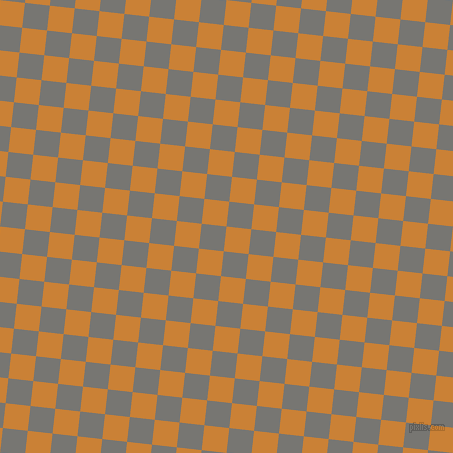 84/174 degree angle diagonal checkered chequered squares checker pattern checkers background, 25 pixel square size, , Golden Bell and Dove Grey checkers chequered checkered squares seamless tileable