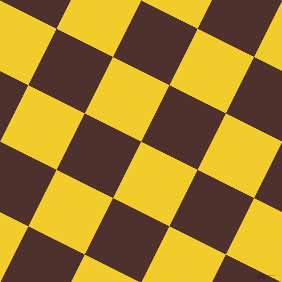 63/153 degree angle diagonal checkered chequered squares checker pattern checkers background, 128 pixel square size, Golden Dream and Espresso checkers chequered checkered squares seamless tileable