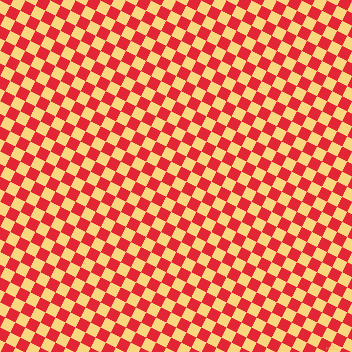 63/153 degree angle diagonal checkered chequered squares checker pattern checkers background, 23 pixel square size, , Golden Glow and Alizarin checkers chequered checkered squares seamless tileable