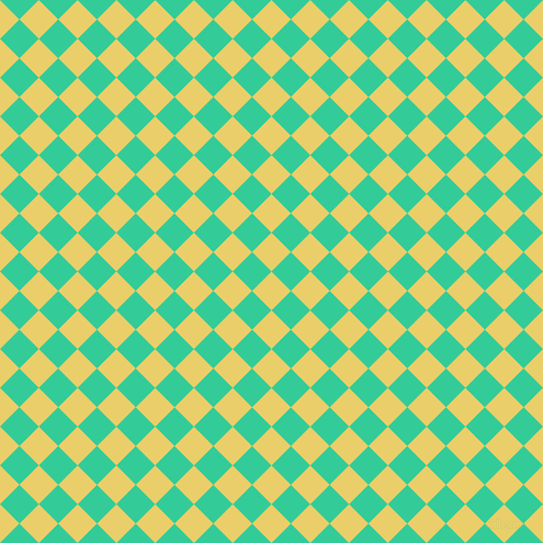 45/135 degree angle diagonal checkered chequered squares checker pattern checkers background, 25 pixel squares size, , Golden Sand and Shamrock checkers chequered checkered squares seamless tileable