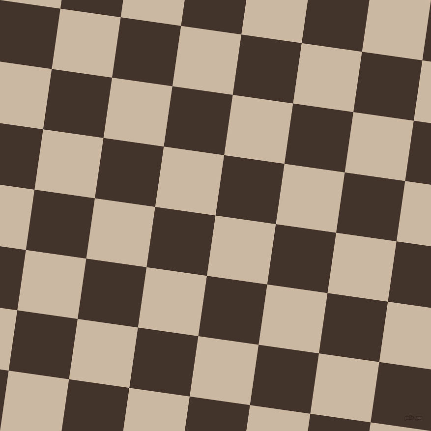82/172 degree angle diagonal checkered chequered squares checker pattern checkers background, 124 pixel squares size, , Grain Brown and Slugger checkers chequered checkered squares seamless tileable