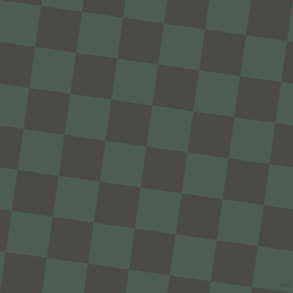 82/172 degree angle diagonal checkered chequered squares checker pattern checkers background, 137 pixel square size, , Gravel and Feldgrau checkers chequered checkered squares seamless tileable
