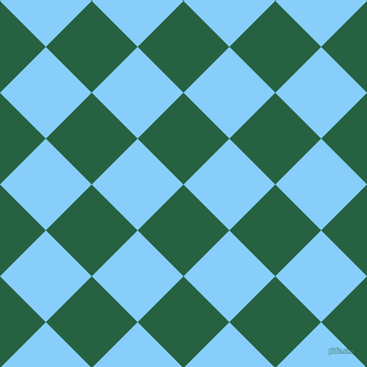 45/135 degree angle diagonal checkered chequered squares checker pattern checkers background, 93 pixel squares size, , Green Pea and Light Sky Blue checkers chequered checkered squares seamless tileable