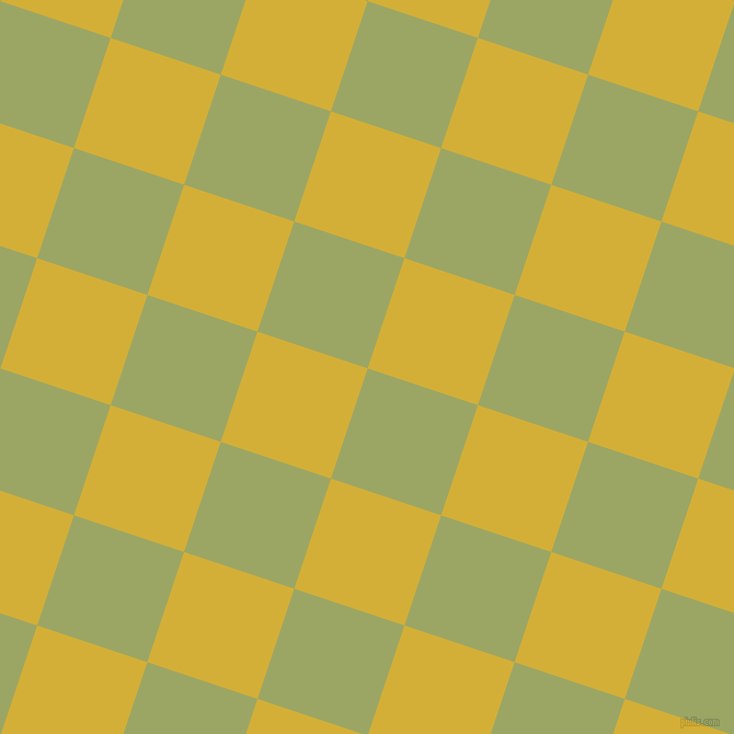 72/162 degree angle diagonal checkered chequered squares checker pattern checkers background, 106 pixel squares size, , Green Smoke and Metallic Gold checkers chequered checkered squares seamless tileable