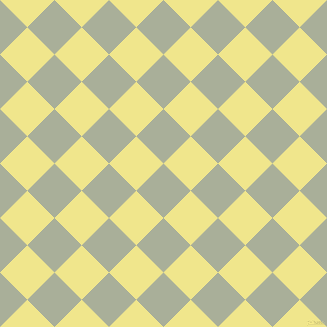 45/135 degree angle diagonal checkered chequered squares checker pattern checkers background, 76 pixel square size, , Green Spring and Khaki checkers chequered checkered squares seamless tileable