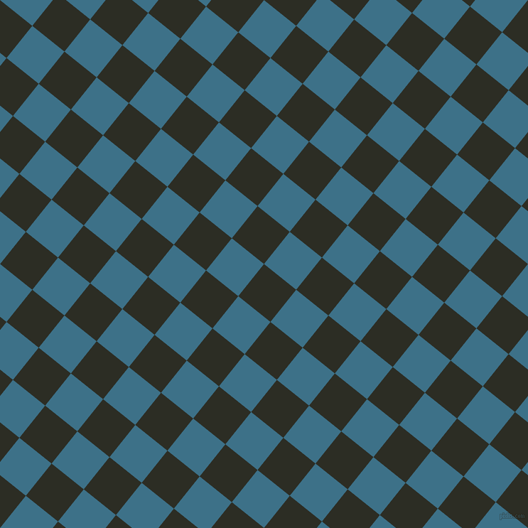 51/141 degree angle diagonal checkered chequered squares checker pattern checkers background, 58 pixel squares size, , Green Waterloo and Calypso checkers chequered checkered squares seamless tileable