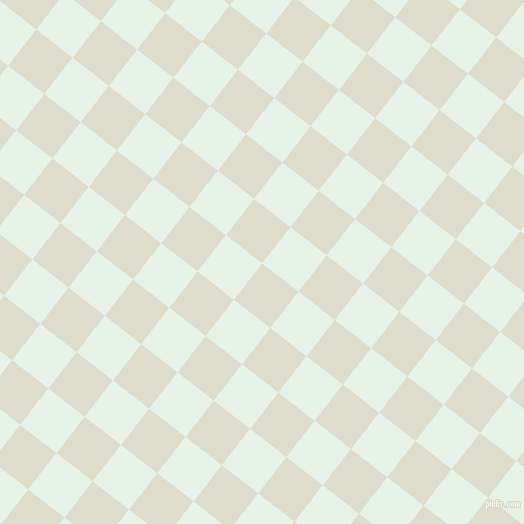 52/142 degree angle diagonal checkered chequered squares checker pattern checkers background, 46 pixel square size, , Green White and Dew checkers chequered checkered squares seamless tileable