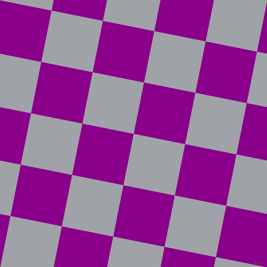 79/169 degree angle diagonal checkered chequered squares checker pattern checkers background, 173 pixel squares size, , Grey Chateau and Dark Magenta checkers chequered checkered squares seamless tileable