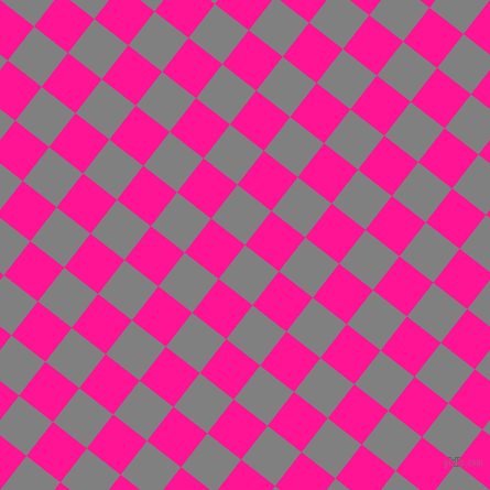 52/142 degree angle diagonal checkered chequered squares checker pattern checkers background, 39 pixel squares size, , Grey and Deep Pink checkers chequered checkered squares seamless tileable