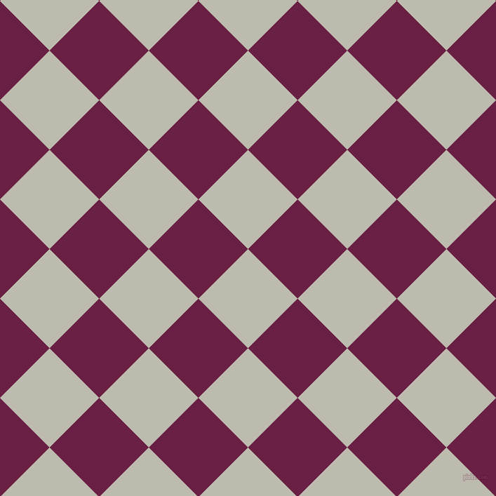 45/135 degree angle diagonal checkered chequered squares checker pattern checkers background, 100 pixel squares size, , Grey Nickel and Pompadour checkers chequered checkered squares seamless tileable