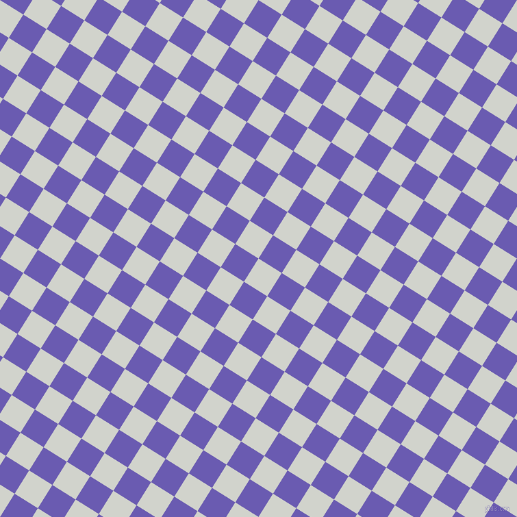 58/148 degree angle diagonal checkered chequered squares checker pattern checkers background, 40 pixel squares size, Grey Nurse and Blue Marguerite checkers chequered checkered squares seamless tileable