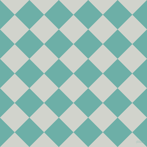 45/135 degree angle diagonal checkered chequered squares checker pattern checkers background, 84 pixel square size, , Grey Nurse and Tradewind checkers chequered checkered squares seamless tileable