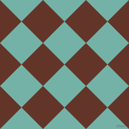 45/135 degree angle diagonal checkered chequered squares checker pattern checkers background, 123 pixel squares size, , Gulf Stream and Hairy Heath checkers chequered checkered squares seamless tileable