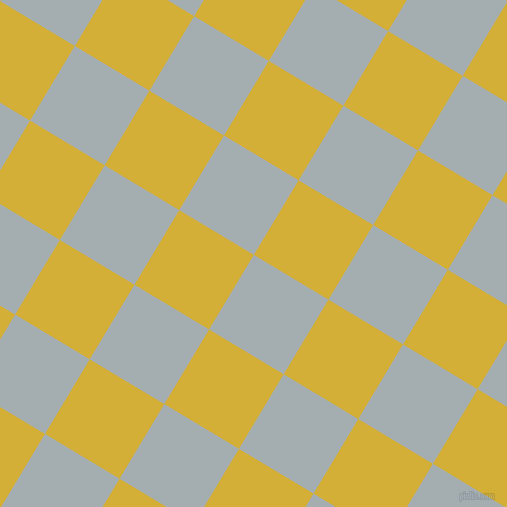 59/149 degree angle diagonal checkered chequered squares checker pattern checkers background, 87 pixel squares size, , Gull Grey and Metallic Gold checkers chequered checkered squares seamless tileable