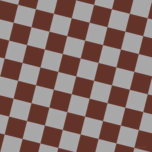 76/166 degree angle diagonal checkered chequered squares checker pattern checkers background, 61 pixel squares size, , Hairy Heath and Dark Gray checkers chequered checkered squares seamless tileable