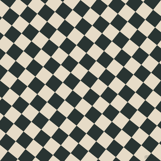 51/141 degree angle diagonal checkered chequered squares checker pattern checkers background, 42 pixel square size, , Half Spanish White and Aztec checkers chequered checkered squares seamless tileable