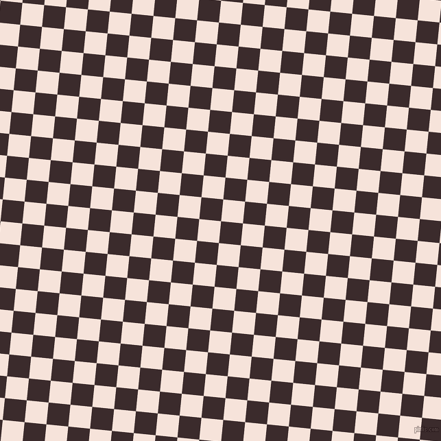 84/174 degree angle diagonal checkered chequered squares checker pattern checkers background, 32 pixel square size, , Havana and Provincial Pink checkers chequered checkered squares seamless tileable