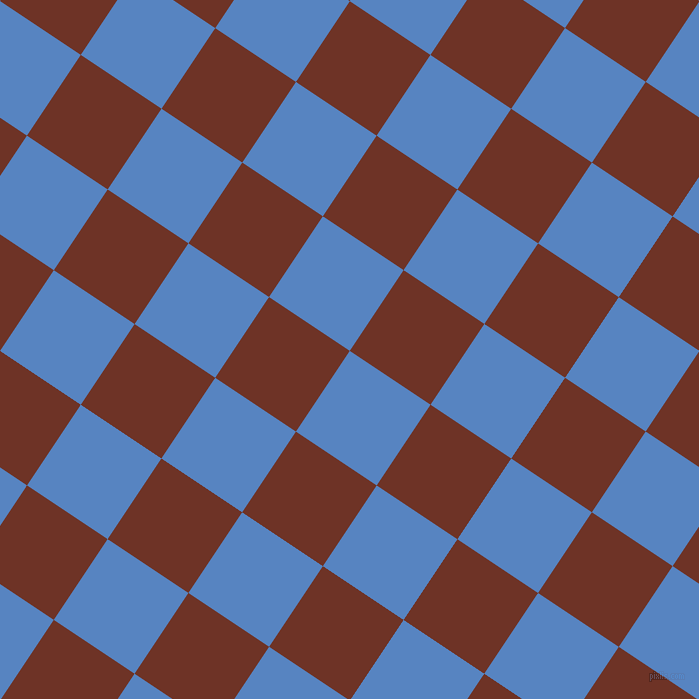 56/146 degree angle diagonal checkered chequered squares checker pattern checkers background, 97 pixel squares size, , Havelock Blue and Pueblo checkers chequered checkered squares seamless tileable