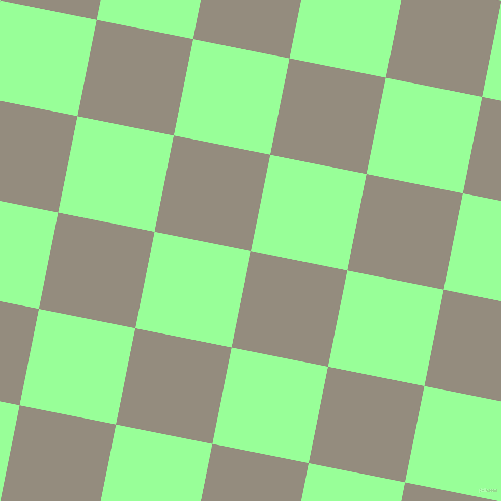 79/169 degree angle diagonal checkered chequered squares checker pattern checkers background, 193 pixel squares size, , Heathered Grey and Mint Green checkers chequered checkered squares seamless tileable