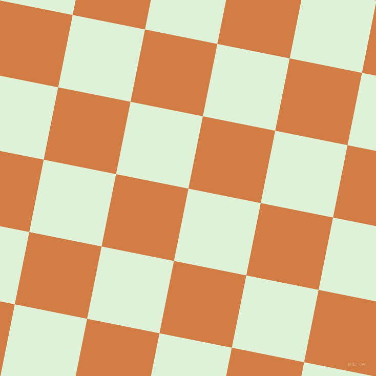 79/169 degree angle diagonal checkered chequered squares checker pattern checkers background, 144 pixel square size, , Hint Of Green and Raw Sienna checkers chequered checkered squares seamless tileable