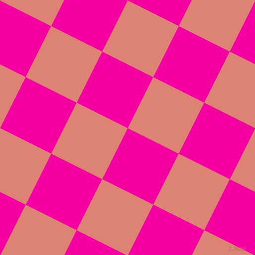 63/153 degree angle diagonal checkered chequered squares checker pattern checkers background, 115 pixel squares size, , Hollywood Cerise and New York Pink checkers chequered checkered squares seamless tileable