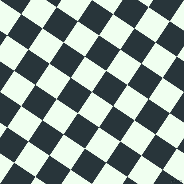56/146 degree angle diagonal checkered chequered squares checker pattern checkers background, 83 pixel squares size, , Honeydew and Oxford Blue checkers chequered checkered squares seamless tileable