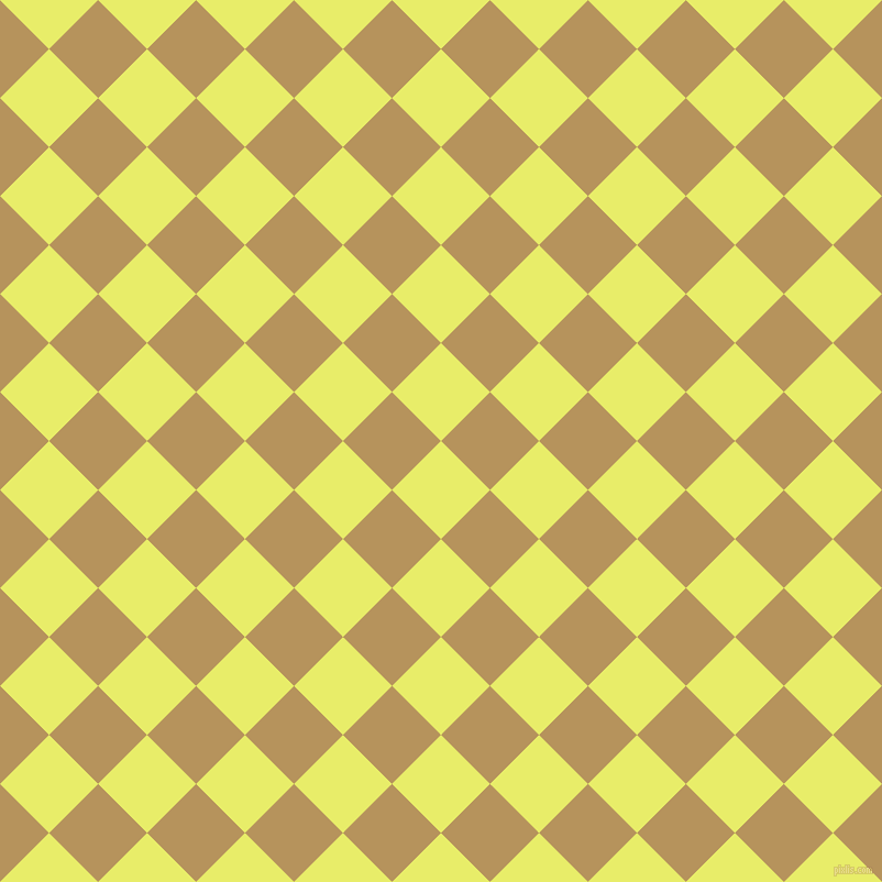 45/135 degree angle diagonal checkered chequered squares checker pattern checkers background, 63 pixel squares size, , Honeysuckle and Barley Corn checkers chequered checkered squares seamless tileable