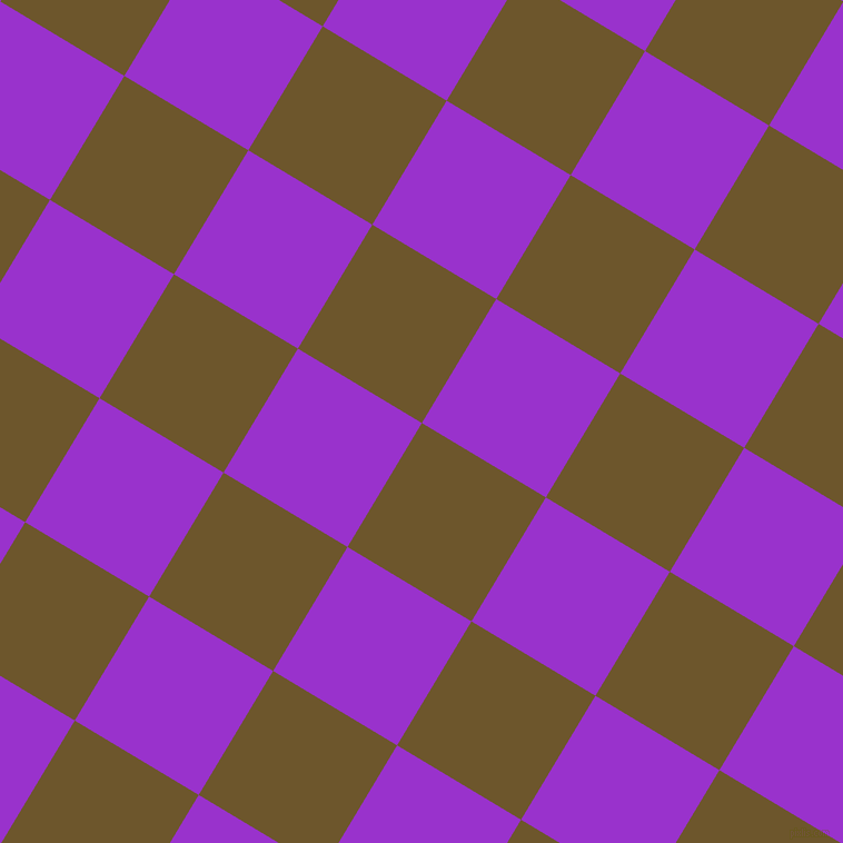 59/149 degree angle diagonal checkered chequered squares checker pattern checkers background, 130 pixel squares size, , Horses Neck and Dark Orchid checkers chequered checkered squares seamless tileable