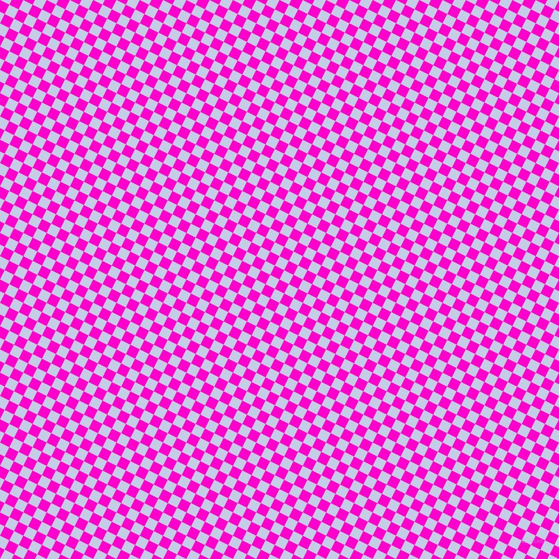63/153 degree angle diagonal checkered chequered squares checker pattern checkers background, 15 pixel squares size, , Hot Magenta and Periwinkle checkers chequered checkered squares seamless tileable