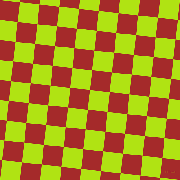84/174 degree angle diagonal checkered chequered squares checker pattern checkers background, 64 pixel squares size, , Inch Worm and Brown checkers chequered checkered squares seamless tileable
