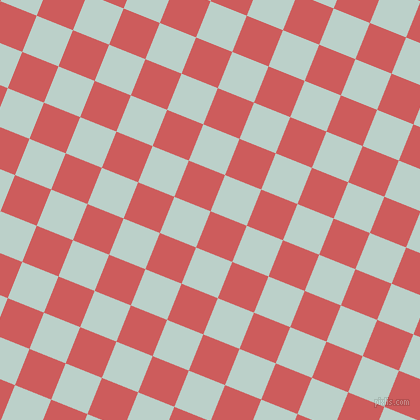 68/158 degree angle diagonal checkered chequered squares checker pattern checkers background, 39 pixel square size, , Indian Red and Jet Stream checkers chequered checkered squares seamless tileable