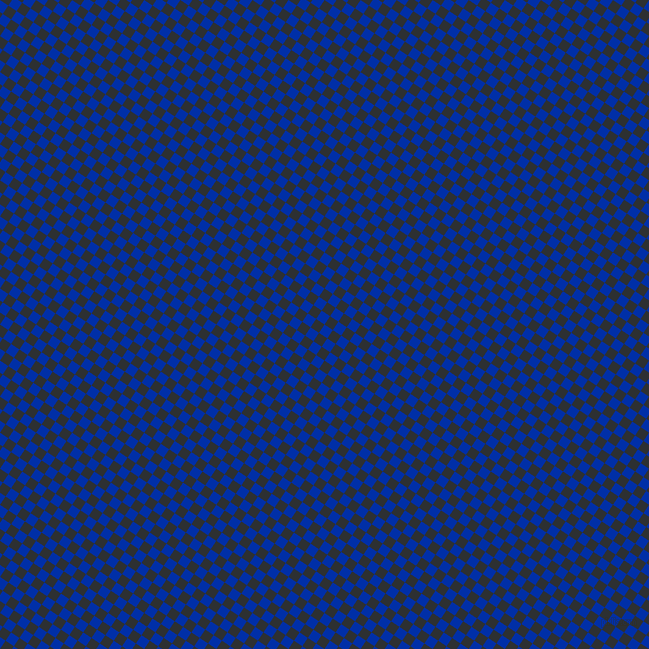 56/146 degree angle diagonal checkered chequered squares checker pattern checkers background, 10 pixel squares size, , International Klein Blue and Cod Grey checkers chequered checkered squares seamless tileable